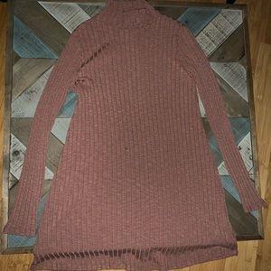 Forever 21 Long Sleeve Turtleneck Dress